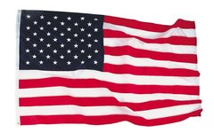 U.S. Flag, 3' X 5', Nyl-Glo by Annin Flagmakers  FLA-0101