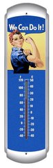 """""""We Can Do It"""" Metal Thermometer  SIG-0119"""