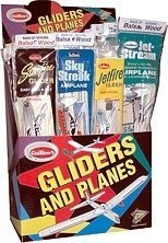 Group of Four Guillow's Balsa Wood Flying Toy Airplanes  GRP-0110