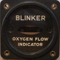 Oxygen Flow Indicator (Blinker) NOS  INS-0101