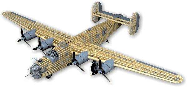 Guillow S Consolidated B 24 Liberator Balsa Wood Model