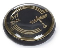 "Boeing B-17 Flying Fortress ""Horn Button"" Paperweight  BOE-0101"