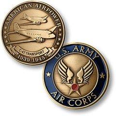 Douglas C-47 Skytrain, U. S. Army Air Corps Challenge Coin  NTM-16027