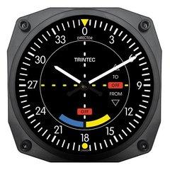 """VOR Instrument Style Wall Clock, 6""""  TRI-9064"""