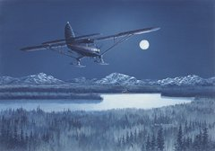 "Ross Buckland Print, Norseman ""Christmas Eve"""