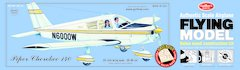Guillow's Piper Cherokee 140 Balsa Wood Flying Model Kit GUI-307LC