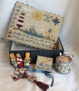 Mermaids Song Sewing Box Mani Di Donna Stitch By Stitch