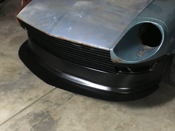 Z Car Front Lip Splitter Custom Fabrication Skillard