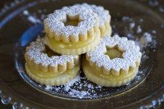 Linzer Cookie - Lemon