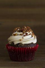 Chocolate Maple Bacon Cupcake