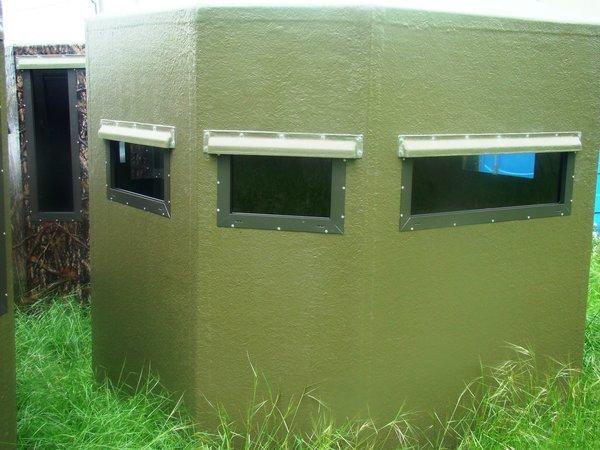 blinds box hunting fiberglass home deer t
