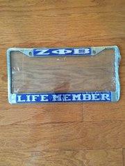 Life Member License Frame