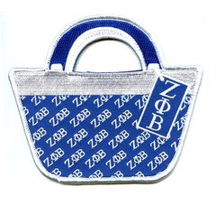 Embroidered Bag Tag