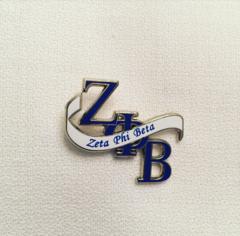 ZPB Banner Lapel Pin
