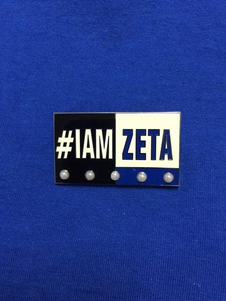 #IAMZETA lapel pin