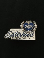 Sisterhood lapel pin