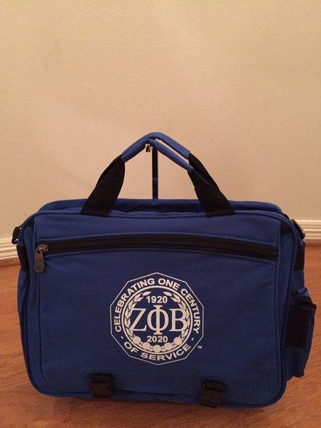 OFFICIAL Zeta Phi Beta Sorority, Inc. CENTENNIAL JOURNEY BAG