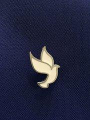 Small White Dove Lapel Pin