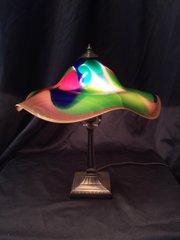 Blown Glass Lamp Multi