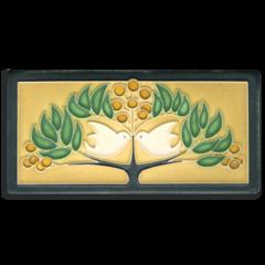 4x8 Lovebirds - Green Oak