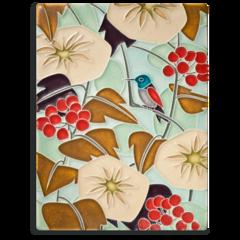 6x8 Hummingbird - Light Blue
