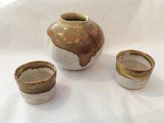 Three-piece Sake set (#2)