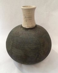 Fluted Ball Vase