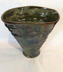 Wide Rim Drip Vase