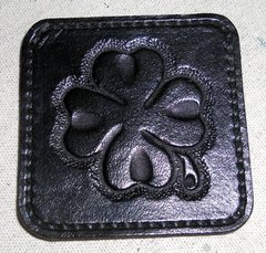 Condom Keeper 4 Leaf Clover Black