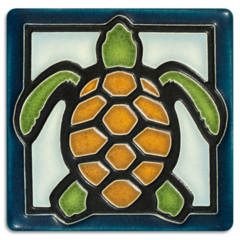 4x4 Turtle - Light Blue