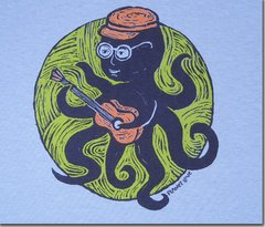 Kids Long Sleeve Octopus