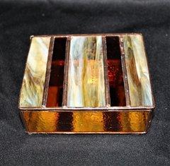 Stained Glass Jewlery Box