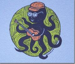 Kids Short Sleeve Octopus