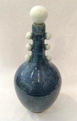 Blue Genie Vase