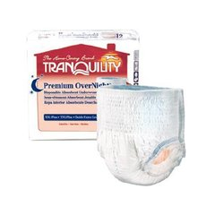 Tranquility  OverNight  Absorbent Underwear-Medium 72ct
