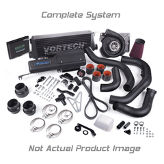 VORTECH 2005-2006 Ford Mustang 4.6 GT System w/V-3 Si-Trim & Charge Cooler, Black Finish 4FU218-024L