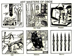 Print - Art Masters of Oboe - copyright