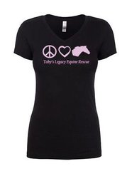 Toby's Legacy - Ladies V-neck Tshirt