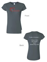 Saving Animals - Rescuer Ladies Tshirt