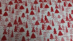 White with Red Christmas Trees