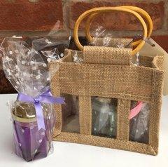 Jars in gift bag