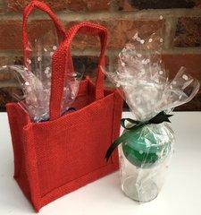 Balloon Sherry Glass Gift Bag