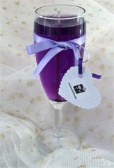 Champagne Glass Gel Candle Orders of more than 30