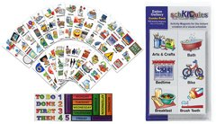 SchKIDules-Entire Gallery Combo: 133 Activity Magnets