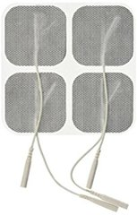 Bioprotec USA Reusable Pre-Wired Electrodes 2 x 2 In. Square, 40/Case