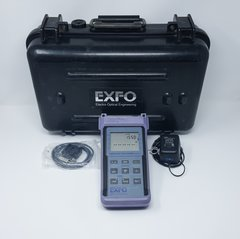 EXFO FOT-910 Fiberoptic Test System w/ Case, Charger, Data Cable