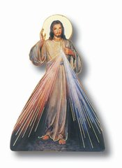 Divine Mercy Statuette/Magnet