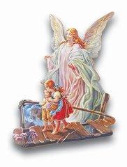 Guardian Angel Statuette Magnet