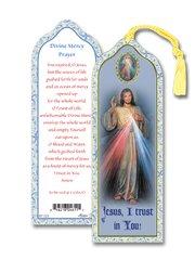 Divine Mercy Laminated Bookmark