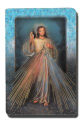 Divine Mercy Multidimensional Plaque with Easel